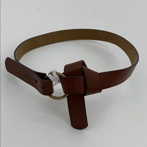 4/$25 NEW Style & Co Women's Brown Knot Belt